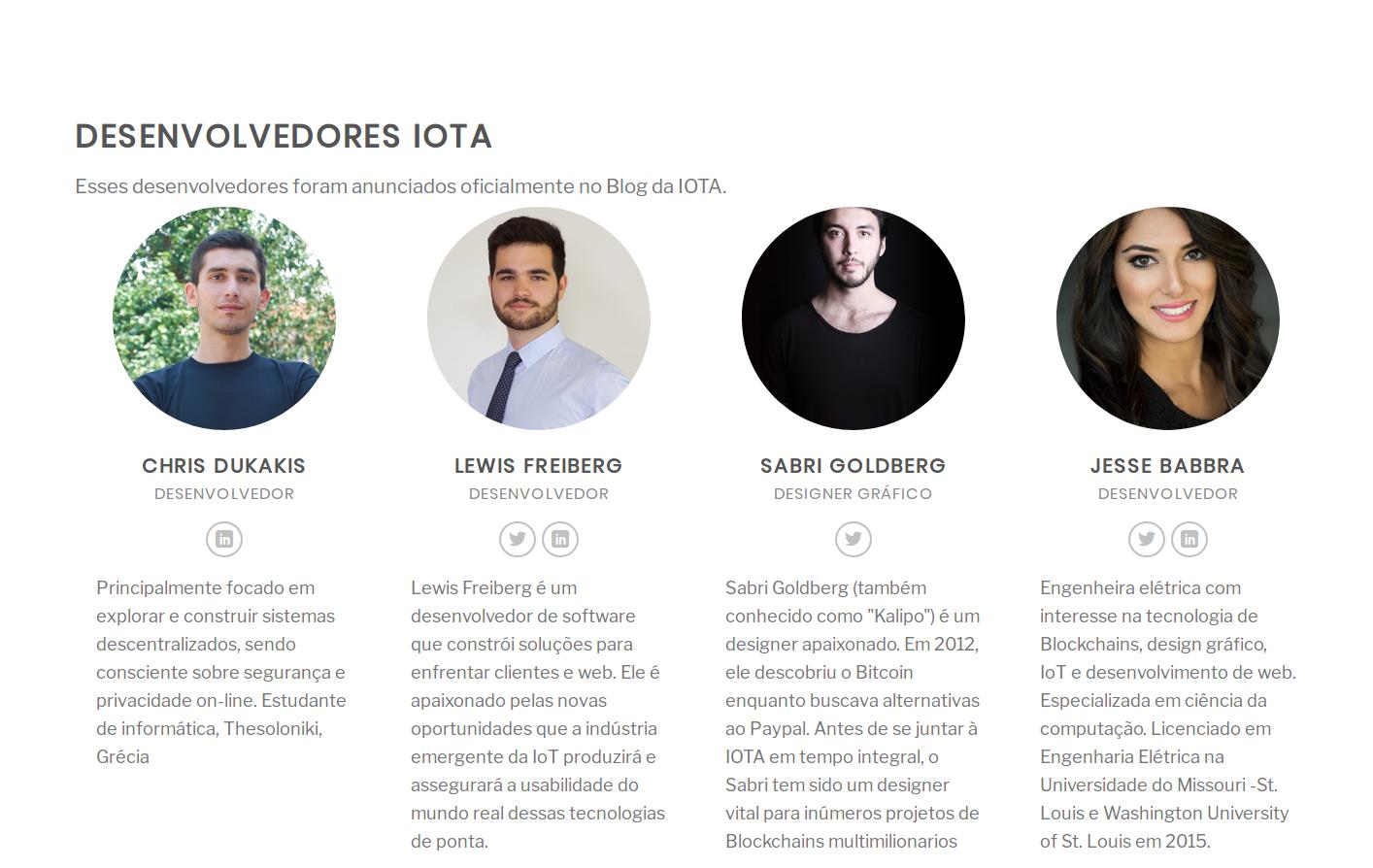 IOTA desenvolvedores 2
