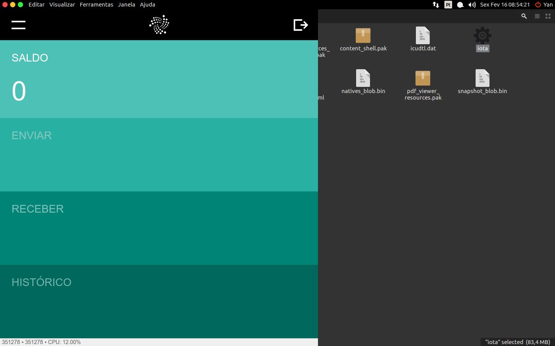 Na tela inicial, para mudar o idioma basta clicar em View>Change Language e alternar para português.