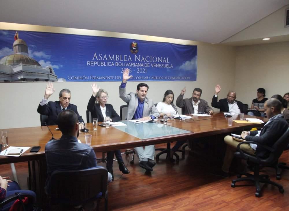 Políticos venezuelanos participam de comissão (Foto: Divulgação)