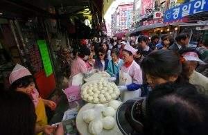 Mercado Namdaemun em Seul (foto: Emmanuel Dyan)