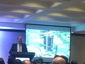 Ilan Goldfajn em evento sobre spread bancário em São Paulo. Foto (Foto: Cláudio Rabin/Portal do Bitcoin)