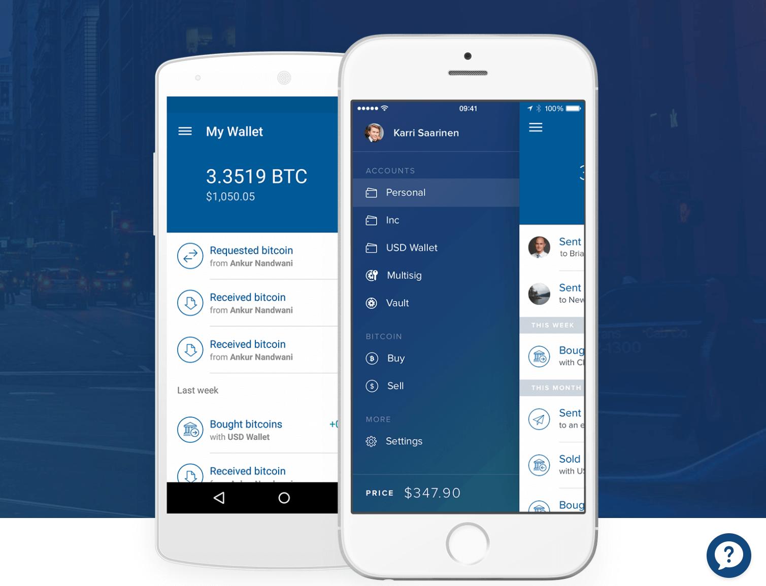 Carteira bitcoin mobile Coinbase