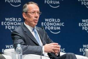 Candido Bracher, principal executivo do Itaú (Foto: World Economic Forum/Benedikt von Loebell)