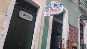Loja no Pelourinho (Foto: Alexandre Antunes/Portal do Bitcoin)