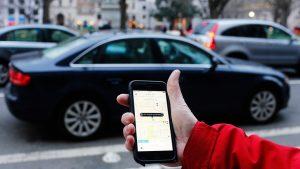 Aplicativo de caronas Uber (Foto: Mark Warner/Flickr)
