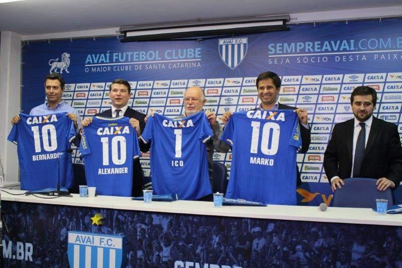 Lançamento da moeda criptomoeda do Avaí (Foto: Alceu Atherino/Divulgação)