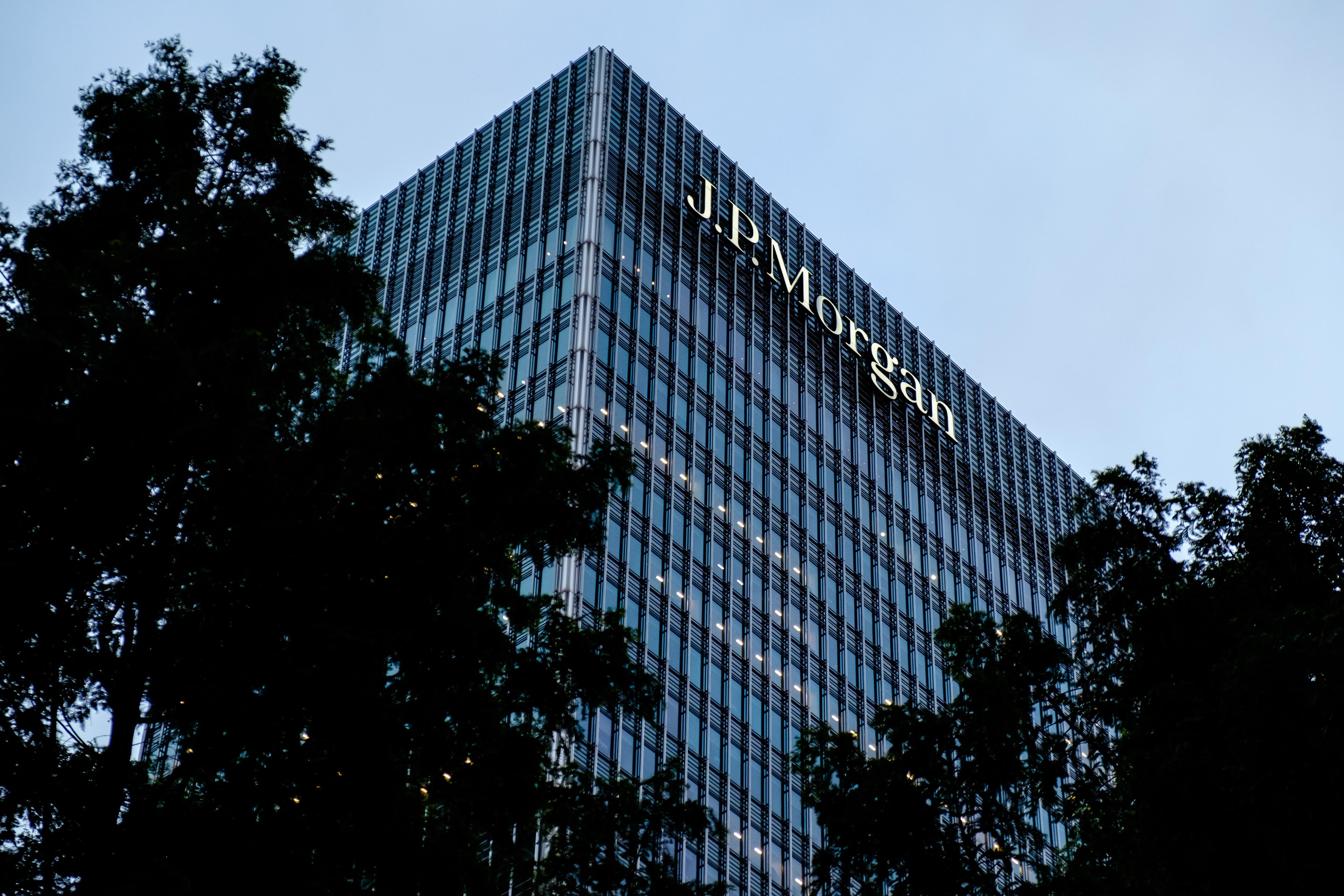 Fachada do banco JPMorgan, em Londres (Foto: Håkan Dahlström/Flickr)