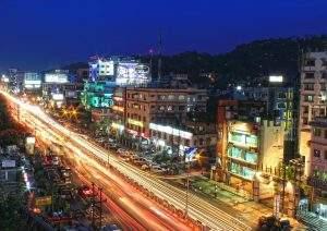 Paisagem urbana na Índia (Foto: donvikro/Pixabay)