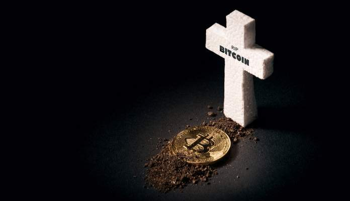 """o BTC é conhecido por ter """"morrido"""" e """"ressuscitado"""" algumas vezes"""