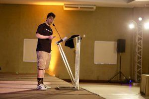 Avelino Morganti em sua palestra na Bitconf Summer 2018 (Foto: Marília Camelo/Portal do Bitcoin)
