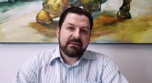 Cícero Saad Cruz em vídeo no Youtube (Foto: Reprodução)