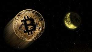 Doze meses depois, a maior criptomoeda do mundo em valor de mercado é negociada a US$ 3.450, uma queda de 83% (Foto: Shutterstock)