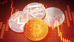 Capitalização do mercado de criptomoedas é a mesma de agosto de 2017 (Foto: Shutterstock)