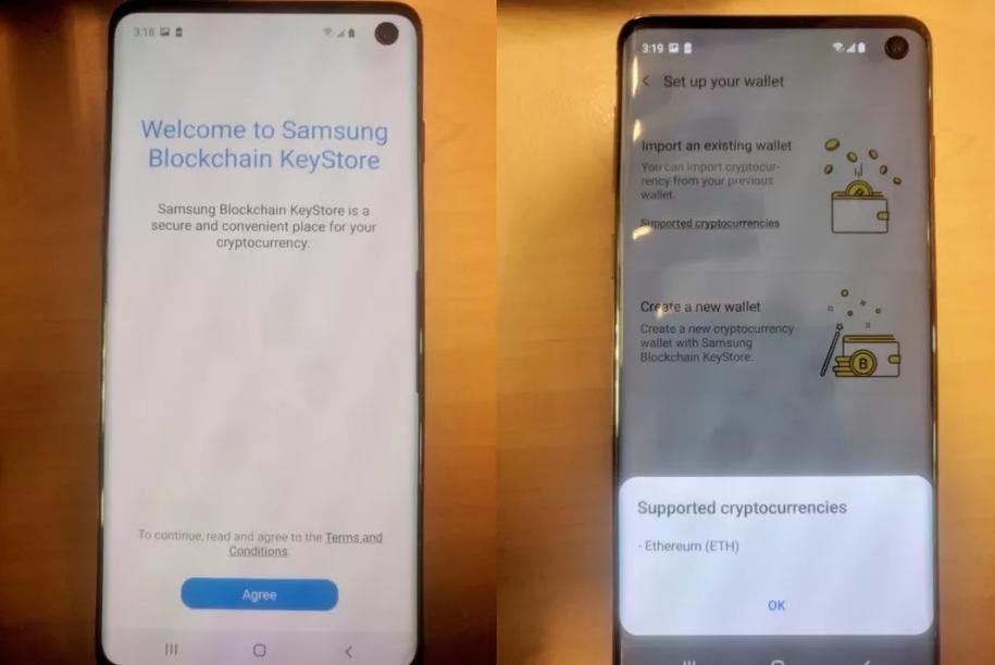 Imagens vazadas no possível novo Samsung Galaxy S10