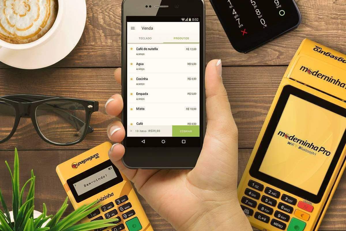 PagSeguro fatura mais de R$ 300 milhões e dobra o lucro no 1º trimestre