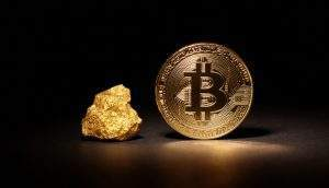 bitcoin, ouro