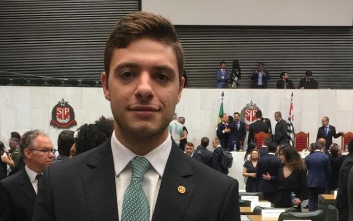 Deputado estadual Thiago Auricchio (Foto: Divulgação)