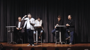 Diretores da Unick em evento recente realizado pela empresa (Foto: Reprodução/Youtube)