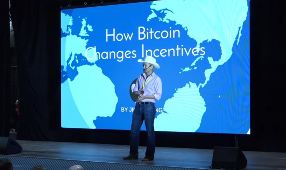 Jimmy Song durante a conferência Baltic Honey Badger (Foto: Reprodução/Youtube)