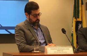 Rodrigo Marques durante audiência na Câmara (Foto: Portal do Bitcoin)