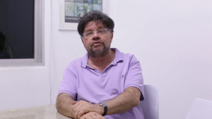 Marcelo Madureira em vídeo publicado no Facebook (Imagem: Reprodução)