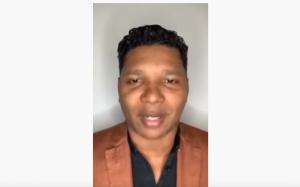 Deivanir Santos, CEO da Midas Trend, em live no Youtube (Foto: Reprodução)
