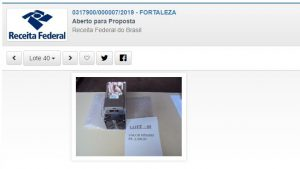 Receita Federal leiloa mineradora de criptomoedas com lance inicial de R$ 2.500