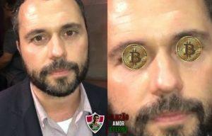 'Mário Bitcoins': Fluminense faz grandes contratações e presidente do clube vira meme