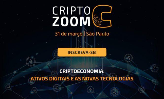 Portal do Bitcoin promove o CriptoZoom, evento em SP sobre criptomoedas e o futuro do dinheiro
