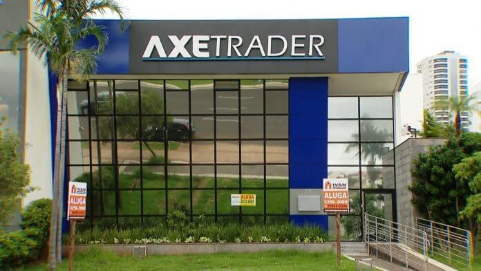 Sede da Axe Trader, em Uberlândia (MG). Local está fechado desde novembro/2019
