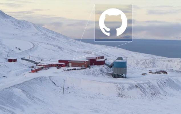 Github enterra código do bitcoin nas montanhas geladas da Noruega