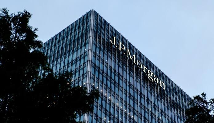 Fachada do banco JPMorgan, em Londres