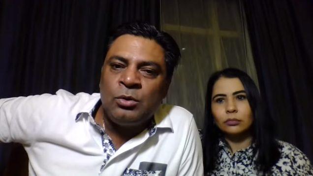 Saleem Zaheer e Joselita Escobar, responsáveis pela G44