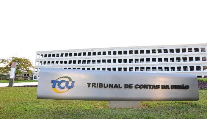 Fachada da sede do Tribunal de Contas da União, em Brasília