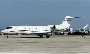 O Gulfstream G650ER está à venda por US $ 40 milhões. (Imagem: Aviatrade)