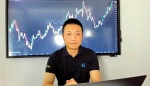 CEO da KuCoin Global Johnny Lyu em live de pronunciamento oficial (Foto: Reprodução/Youtube)