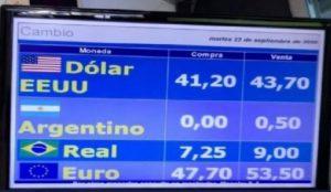 O dia em que o peso argentino valeu zero no Uruguai
