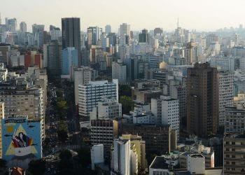 Vista do Edifício Copan, região central (Foto: Rovena Rosa/Agência Brasil)