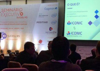 Seminário em que a Iconic participou (Foto: Divulgação)