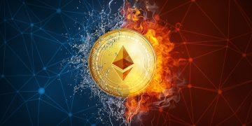 Taxas de transação da Ethereum caem 85% em menos de três semanas