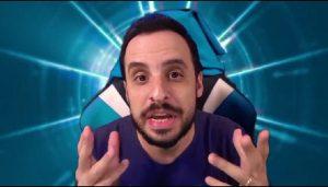 Youtuber Marcos Castro posta preço do bitcoin e diz se arrepender de não ter comprado