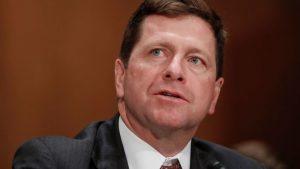Jay Clayton, presidente da SEC (Foto: AP)