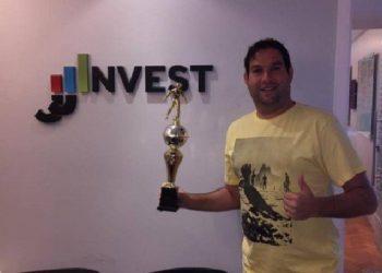 Jonas Spritzer Amar Jaimovick é o criador da JJ Invest (Foto: Divulgação)