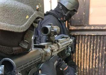 Operação policial contra sequestro no RS (Foto: Divulgação/Polícia Civil)