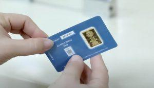 Ouro cartão Usbequistão