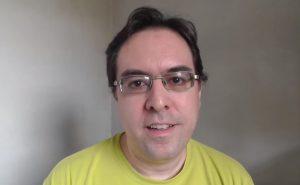 Daniel Fraga. Foto: Reprodução/YouTube
