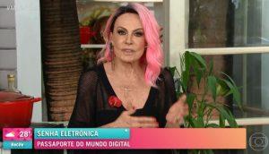 Ana Maria Braga. (Foto: Reprodução/Globo Play)