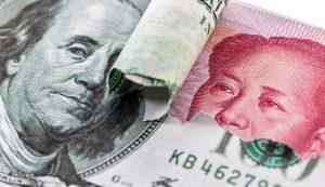 dólar, yuan