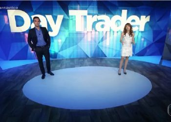 Globo alerta sobre riscos no day trade em reportagem no Fantástico