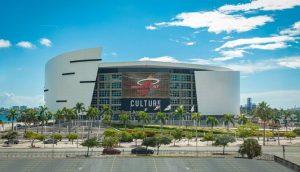Estádio do time de basquete Miami Heat (Foto: Divulgação)